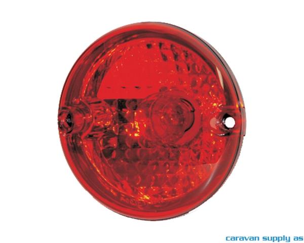 Bilde av Baklykt Jokon serie 710 m/bremselys Ø95mm rød