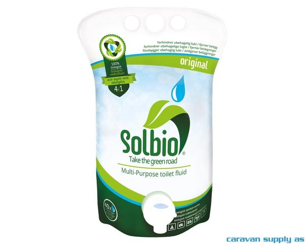 Bilde av Sanitærvæske Solbio Original 1,6l = 40 doser