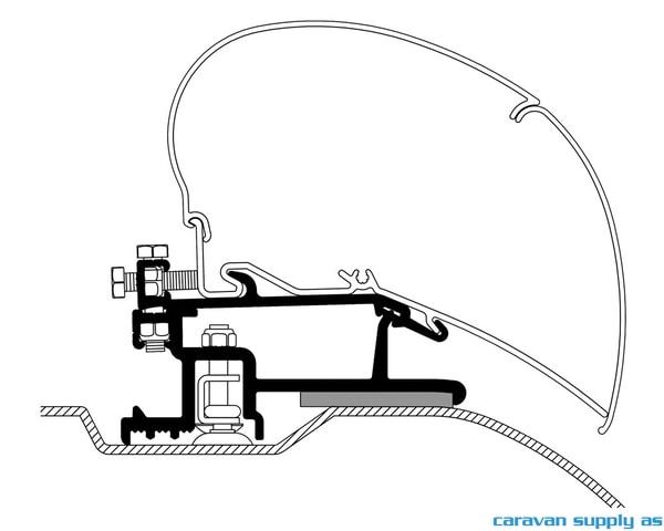 Bilde av Feste Omnistor 6/9-serie Ducato-07 350-400cm 4stk