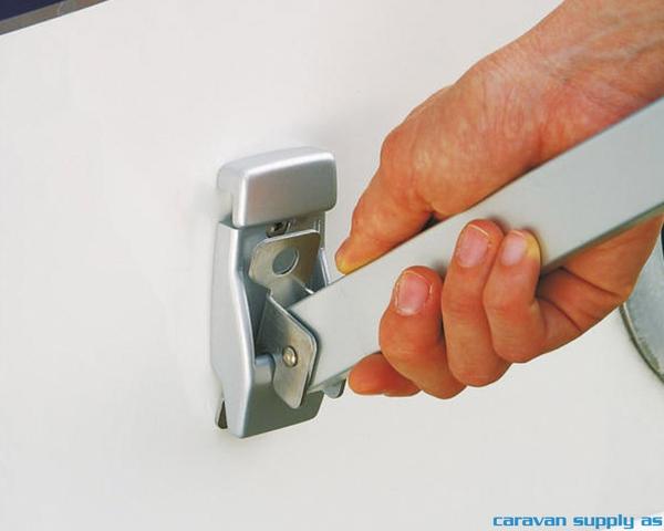 Bilde av Wall brackets alu titanium 2pcs 98655-728