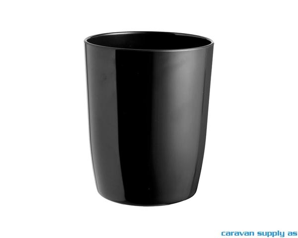 Bilde av Beholder Brunner Serenade Ø12x14,5cm svart
