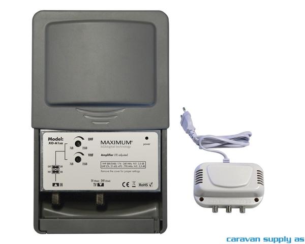 Bilde av Forsterker til antenne VHF/UHF m/power supply