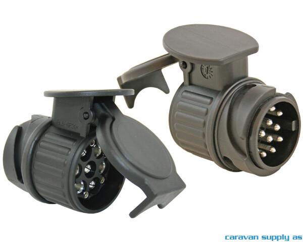 Bilde av Mini Universaladapter 13-13pol 12V