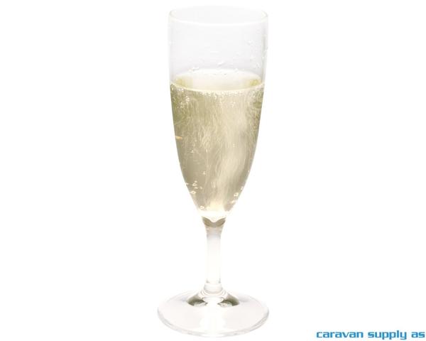 Bilde av Champagneglass 10cl klar 2stk