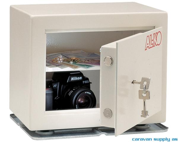 Bilde av Safe AL-KO 14l 30x24x20cm inkl. nøkler hvit