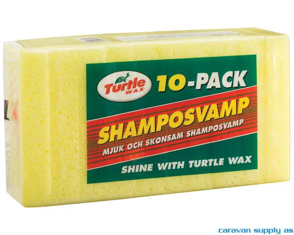 Bilde av Turtle Wax Shamposvamp 10stk