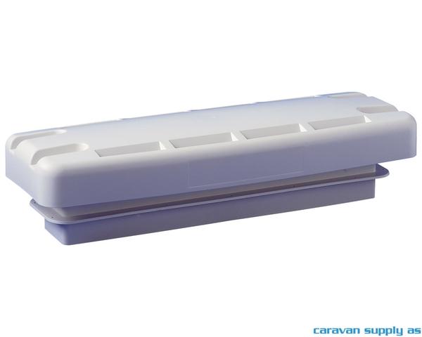 Bilde av Luftegitter Dometic L500 tak 548x205x150mm hvit