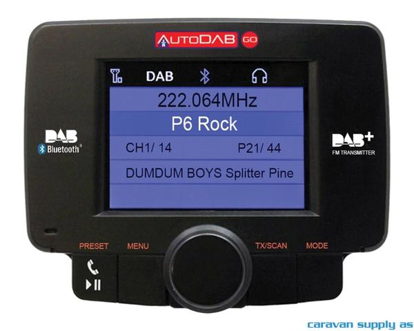 Bilde av DAB-adapter AutoDAB Go