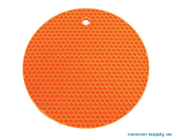 Bilde av Grytelapp LotusGrill silikon rund orange