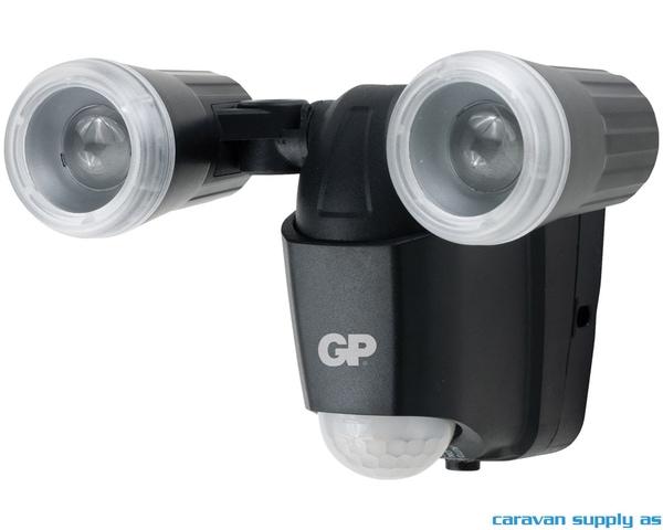 Bilde av Lampe GP Safeguard RF2 m/sensor trådløs inkl.