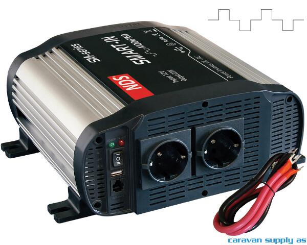 Bilde av Omformer NDS Smart-In SM1000 1000W modifisert