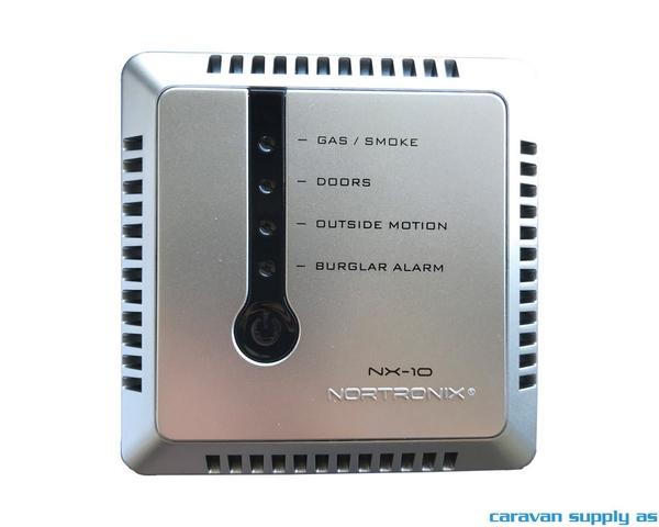 Bilde av Alarm NX-10 startpakke 12V sølvgrå