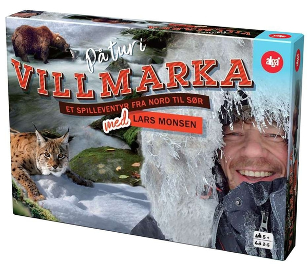 Bilde av På tur i villmarka med Lars Monsen - brettspill