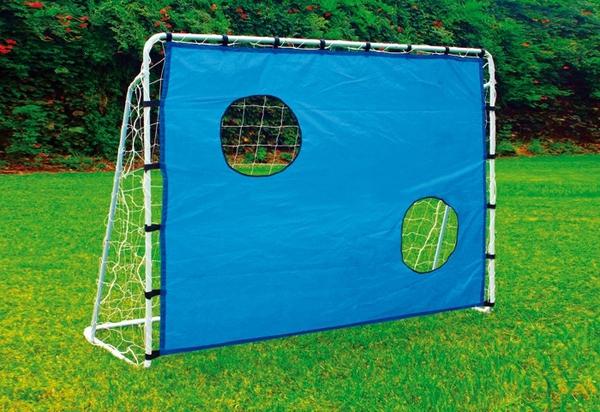 Bilde av Fotballmål med nett målvegg 2i1