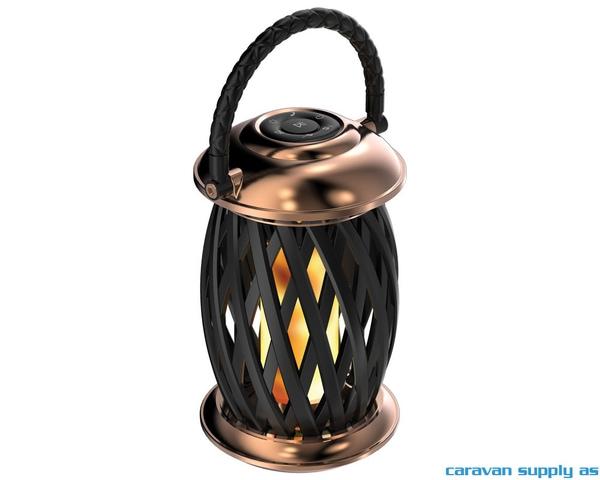 Bilde av Flammelampe Ignis  LED kobber