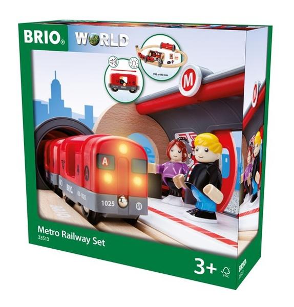 Bilde av BRIO Metro togbane - 33513