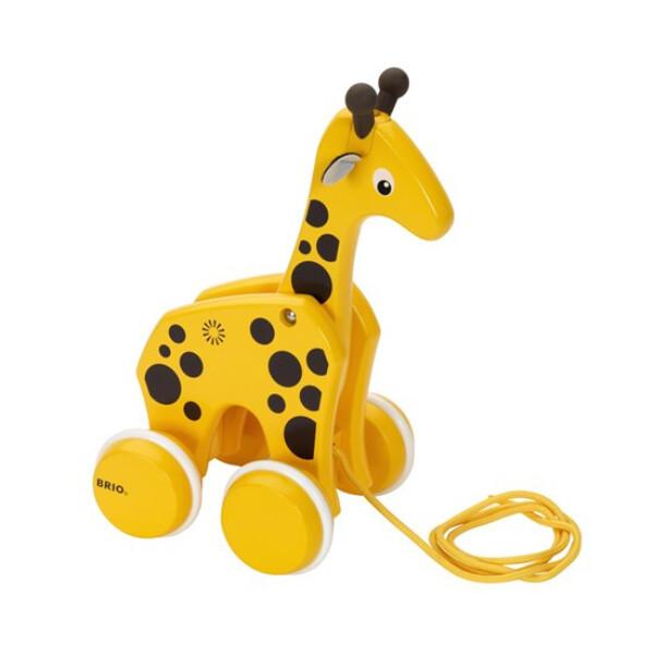 Bilde av BRIO Giraff Trekkleke 30200