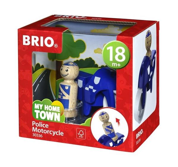 Bilde av BRIO Politimotorsykkel 30336