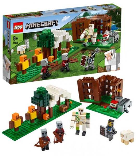 Bilde av LEGO Minecraft 21159 Pillagernes utpost