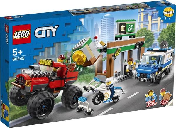 Bilde av LEGO City Police 60245 Bankran med monstertruck