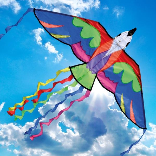 Bilde av BROOKITE – BERMUDA BIRD DRAGE (140x60CM)