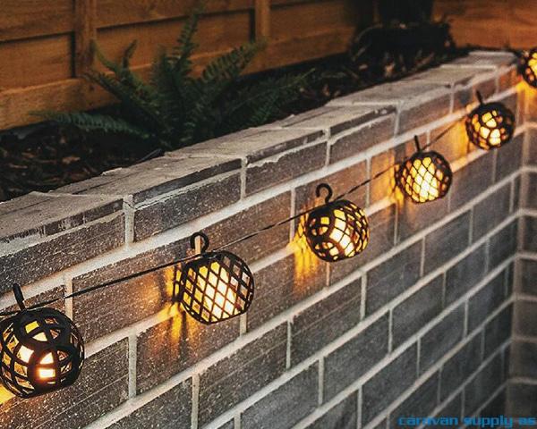 Bilde av Lysslynge m/flammekuler LED 230V