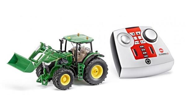 Bilde av Radiostyrt traktor John Deere 7R