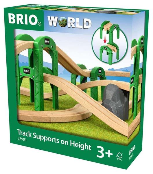 Bilde av BRIO Track Supports 33981 - brosystem med