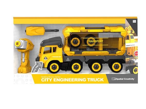 Bilde av CITY ENGINEERING – DIY TRAILER M/SKRUMASKIN OG