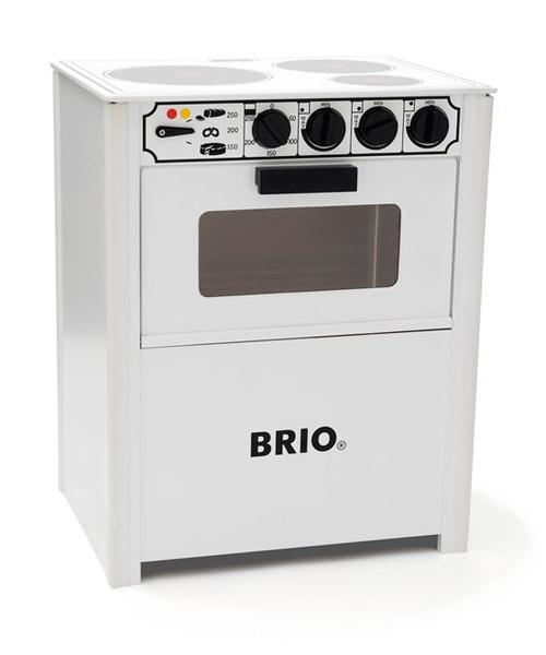 Bilde av BRIO® Komfyr - hvit 31357