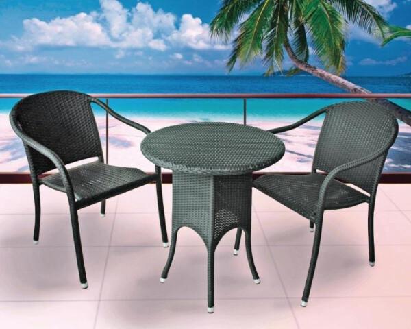 Bilde av Topdesign sittegruppe i rotting -  2 stoler og
