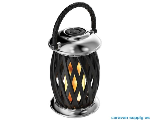 Bilde av Flammelampe Ignis  LED stål