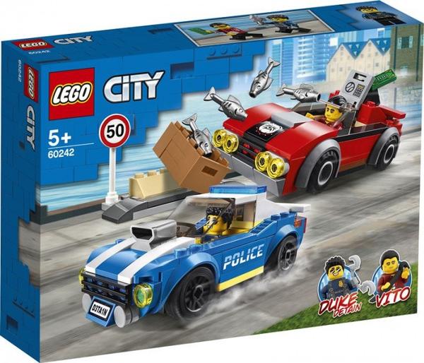 Bilde av LEGO City Police 60242 Utrykningspolitiet