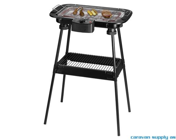 Bilde av Elektrisk grill 2-i-1 grill/bordgrill 2000W
