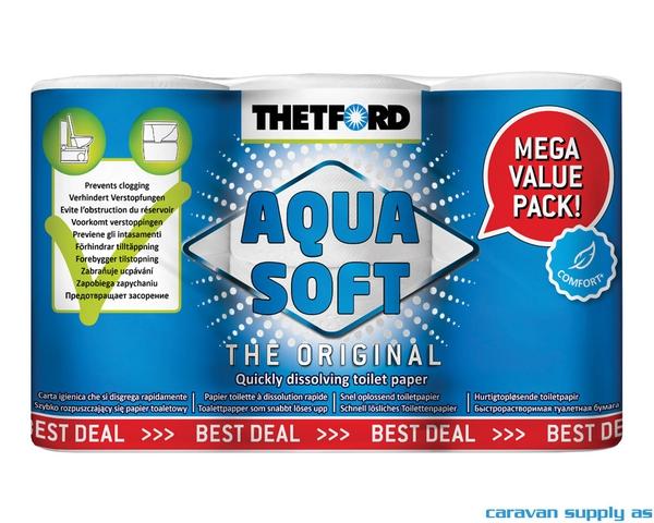 Bilde av Toalettpapir Thetford Aqua Soft 6stk