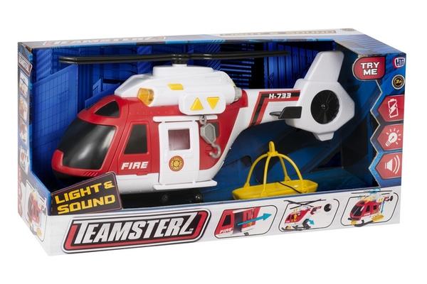 Bilde av TEAMSTERZ – Brann helikopter m/lyd og lys (40cm)