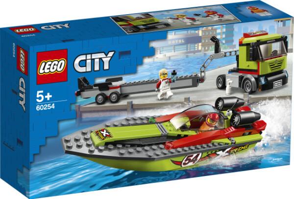Bilde av LEGO City Great Vehicles 60254 Racerbåt og