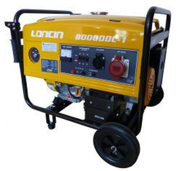 Bilde av Strømaggregat Loncin LC8000DDC- 400 3-fas
