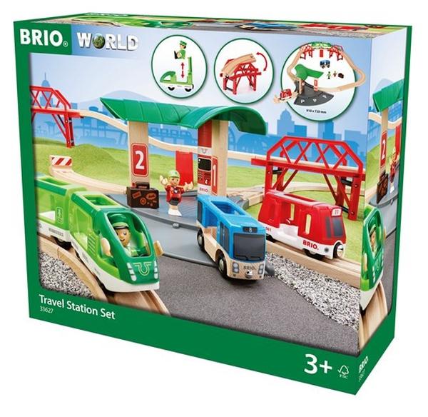 Bilde av BRIO 33627 kollektivsenter togsett