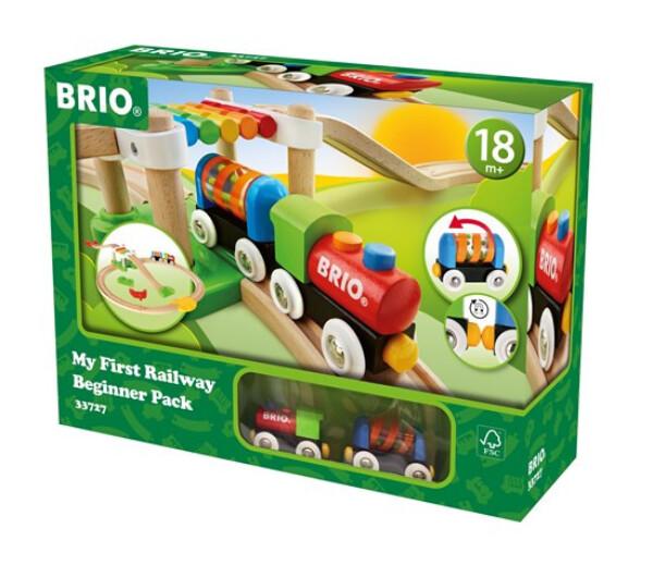 Bilde av BRIO Min første togbane – begynnersett -  33727