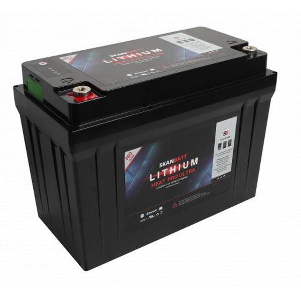 Bilde av SKANBATT Lithium HEAT PRO «Ultra» 12V 120AH - CAN