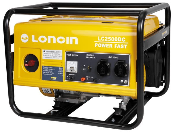 Bilde av Strømaggregat Loncin Lc2500Dc med snorstart