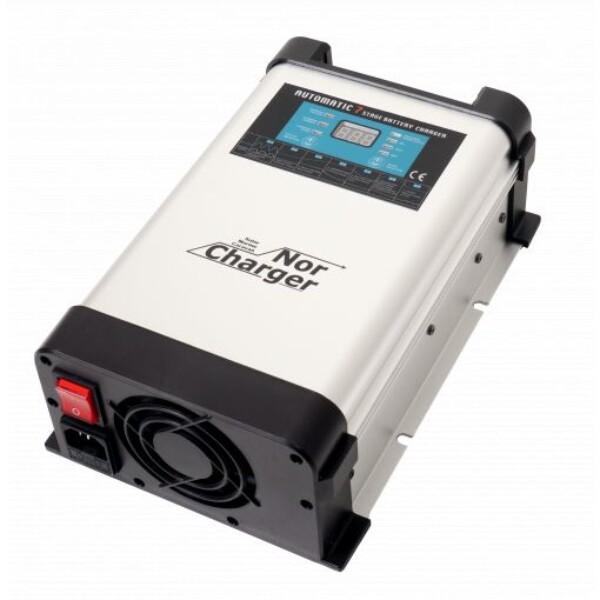 Bilde av NOR CHARGER Pro Elektronisk Batterilader 12V 60A