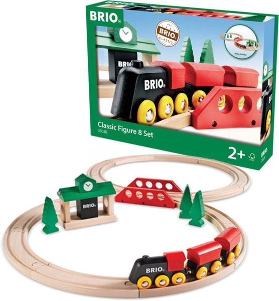 Bilde av Brio Klassisk 8-talls togsett - 22 deler