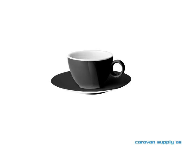 Bilde av Espressokopp m/skål Brunner Serenade 10cl