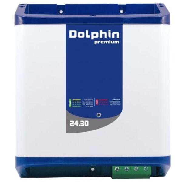 Bilde av  DOLPHIN Premium 24V 30A Batterilader 3-kanaler –