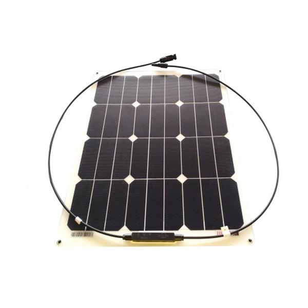 Bilde av SKANBATT Solcellepanel Fleksibelt Mono 40W