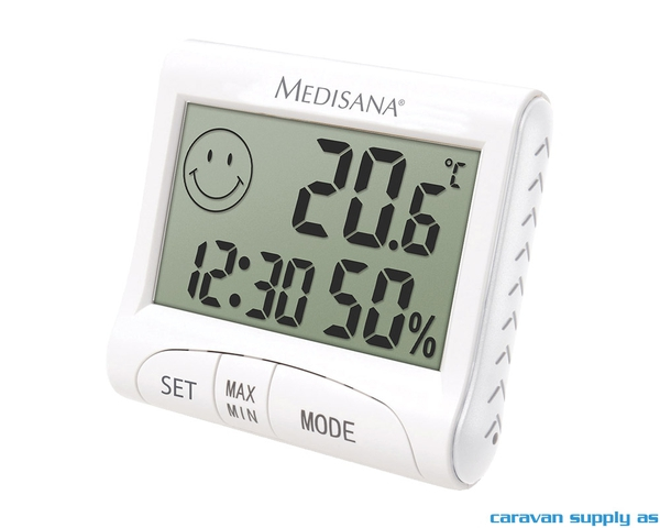 Bilde av Termometer/hygrometer Medisana inne hvit