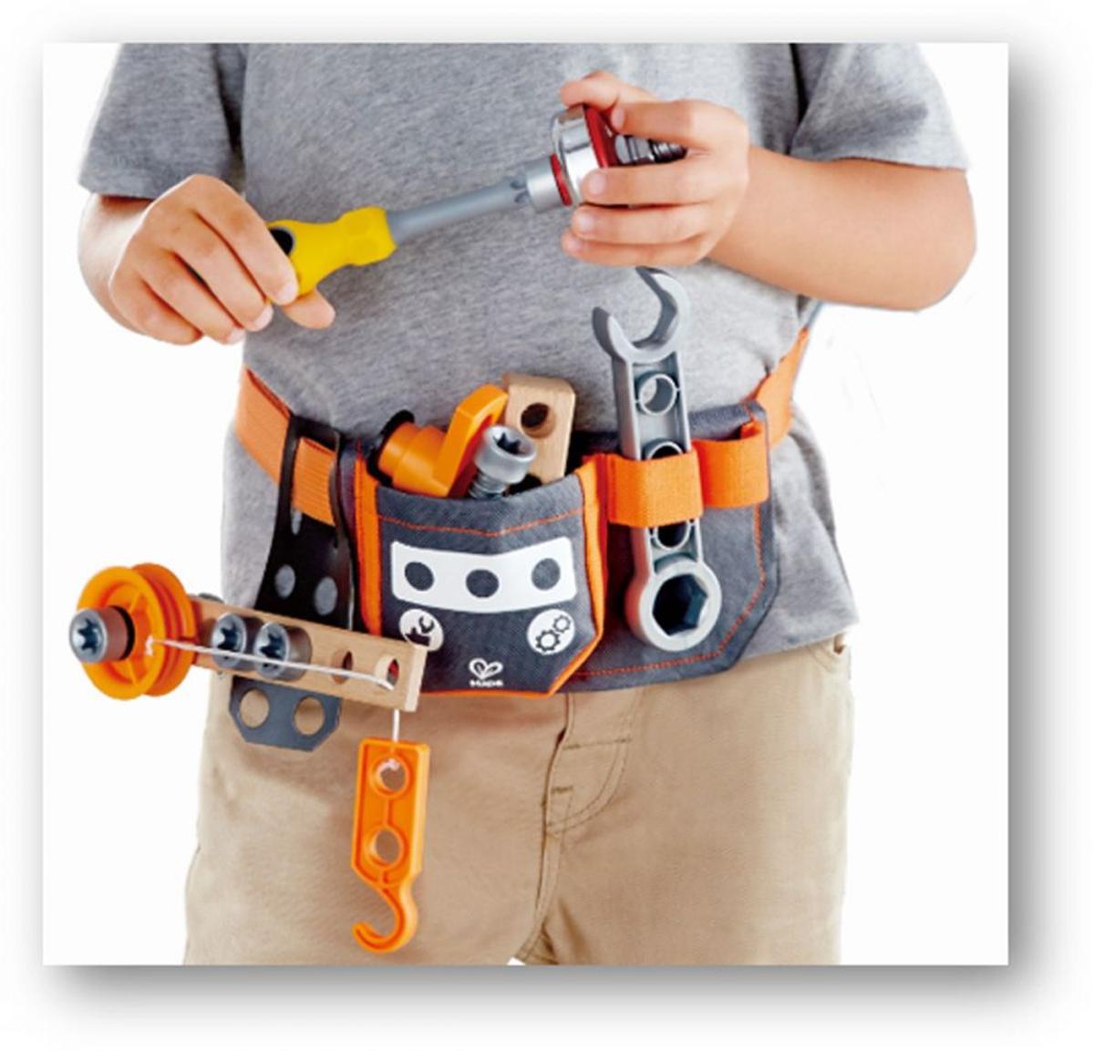 Hape Scientific Tool Belt - verktøybelte med tilbehør - 19 deler