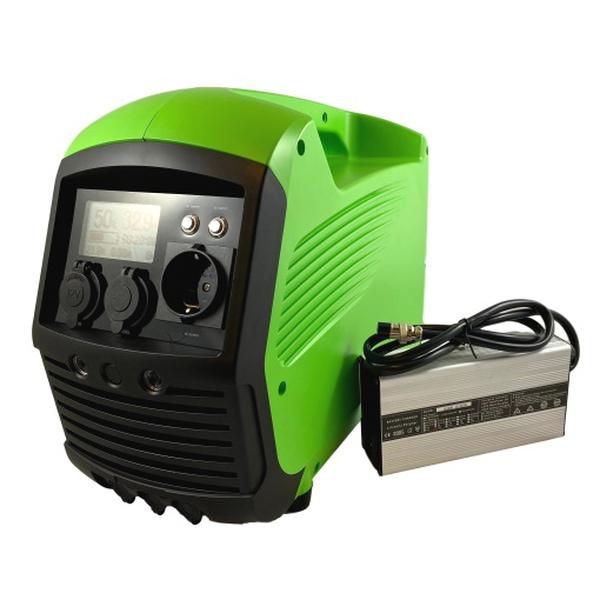 Bilde av LITHIUM LPS Power Supply 1000W Ren Sinus Inverter